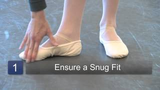 How to Wear Ballet Shoes. Part of the series: Ballet. Ballet shoes ...