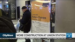 More construction at Union Station