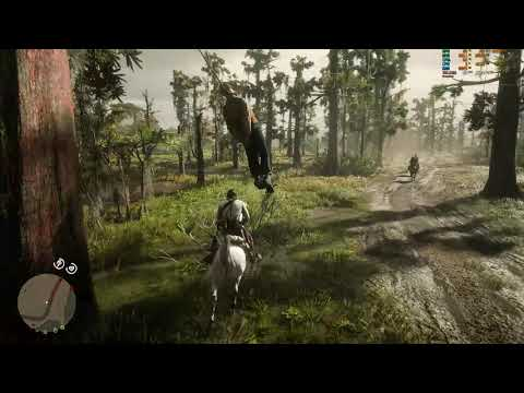 Red Dead Redemption 2 Nvidia Physx 5.0 Demonstration