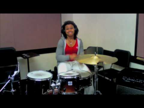 "Sia- Clap Your Hands (for We are Born) (Drum Cover) by Taylor ""Pocket Queen"" Gordon"