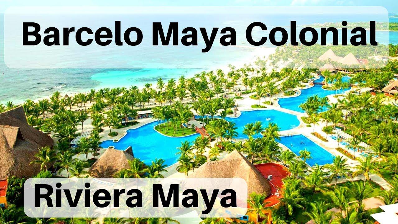 Barcelo Maya Colonial Resort Tour You