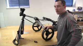 how to replace a speed cart brake cable