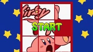 Game Boy Advance Longplay [151] Kirby Puzzle (e-Reader)