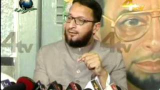Owaisi press conference regarding attack on MLA's