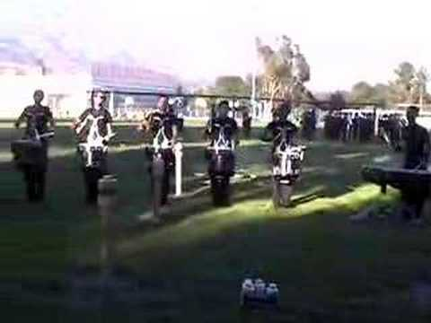 2007 Bluecoats Drumline: 6/8 Blue exercise (double beat)