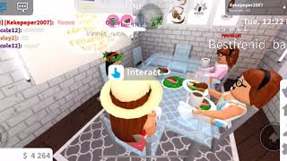 Newborn and toddlers morning routine♡|roblox bloxburg roleplay| Destiny|