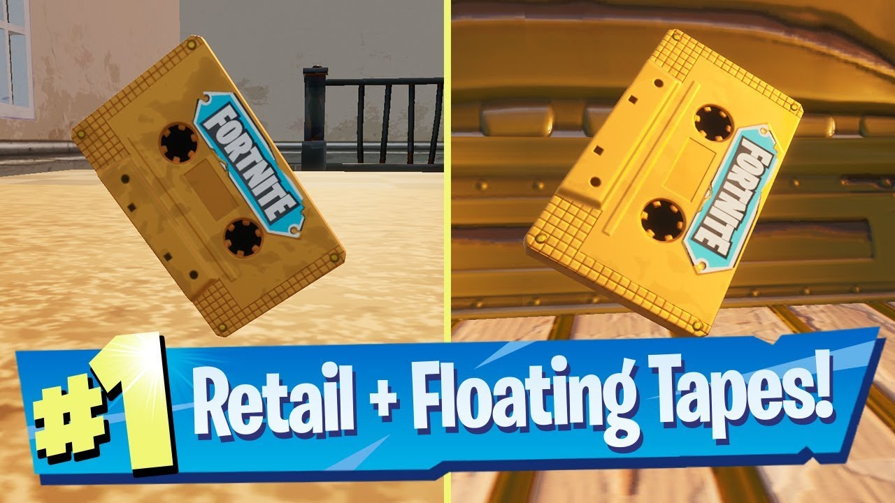 Collect The Visitor Recording On The Floating Island And In Retail Row Fortnite Out Of Time
