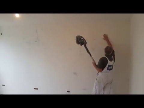 Masinsko smirglanje zidova