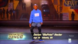 So You Think You Can Dance Season 10 | Dorian 'bluprint' Hector