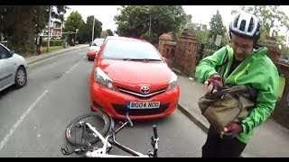 Car Vs Cycle Hit and Run, Tilehurst Road, Reading 2/6/2014
