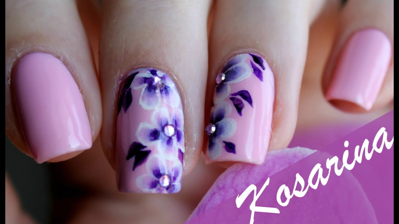 фото рисунки на ногтях акрил
