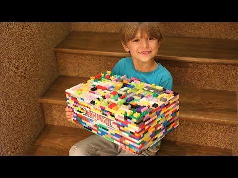 LEGO Surprise Toys BOX Family Fun Time - The LEGO NinjaGo Movie