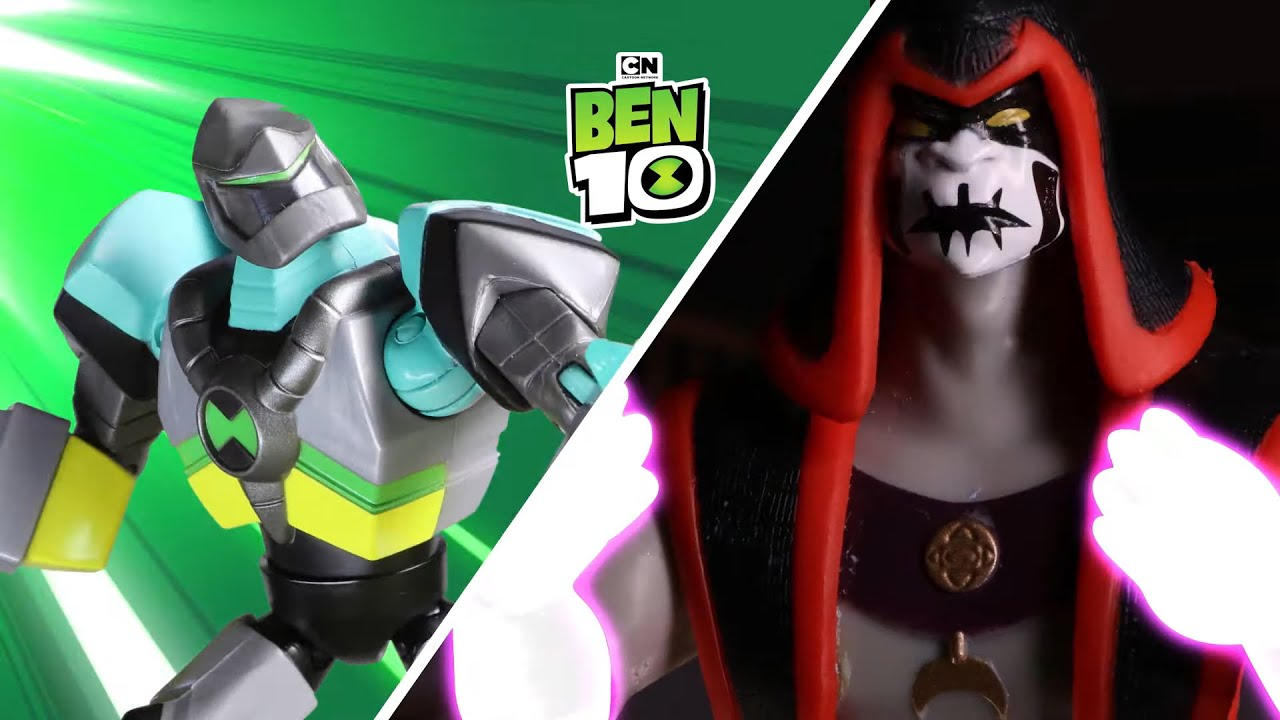 Ben 10 Oyuncakları | Elmas Kafa Savaş Sahnesi Canlandırma | Cartoon Network