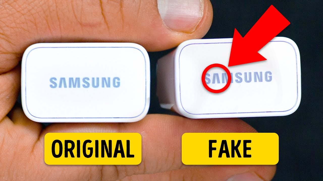 6 TIPS TO HELP YOU RECOGNIZE FAKE GADGETS  YouTube