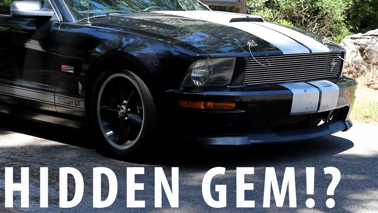 2007 shelby gt review the forgotten mustang