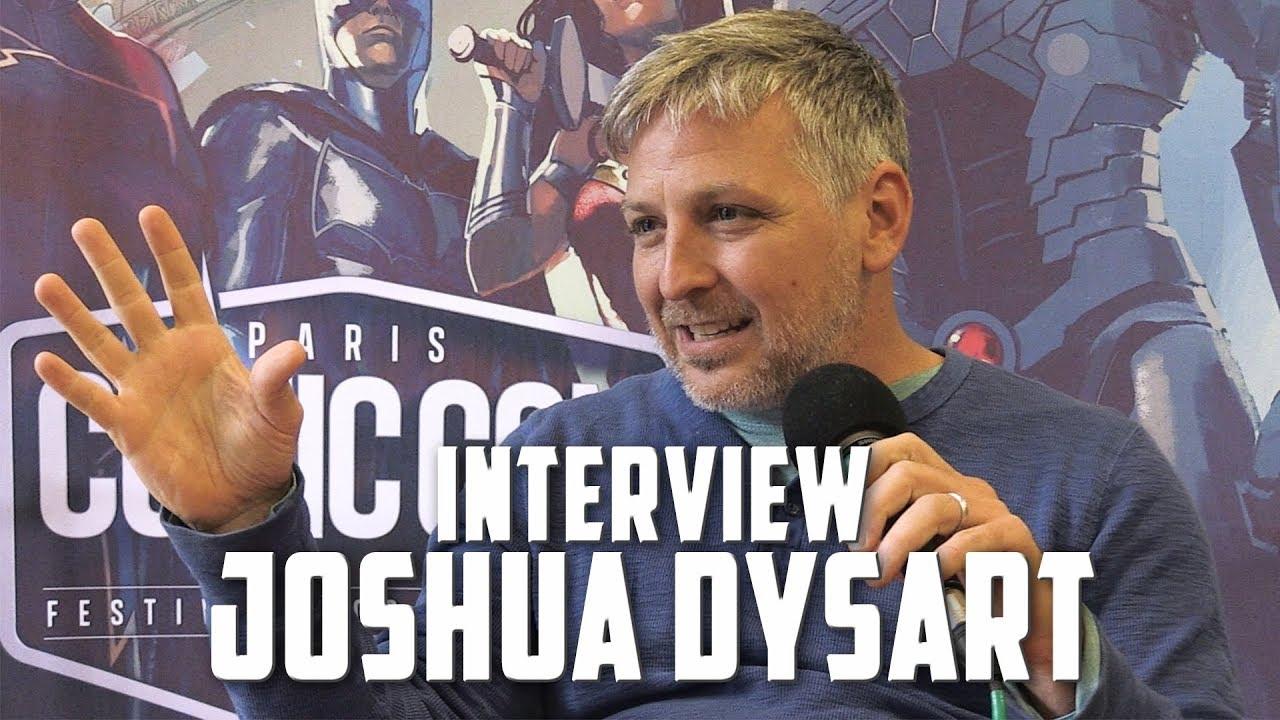 Imperium, politique et Donald Trump : l'interview de Joshua Dysart au Comic Con Paris 2017