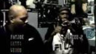 Percee P, Eminem and Fat Joe trading verses