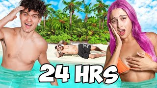 Surviving 24 Hours On A Deserted Island