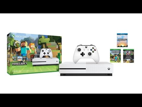 Xbox One Minecraft Favorites Bundle Unboxing Poster