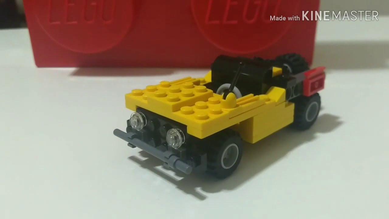 LEGO Jeep - Instructions - YouTube