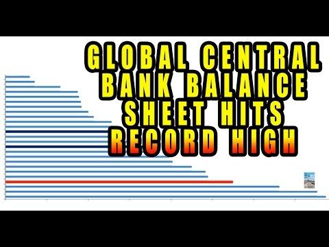 Global Central Bank Balance Sheet Hits RECORD HIGH!