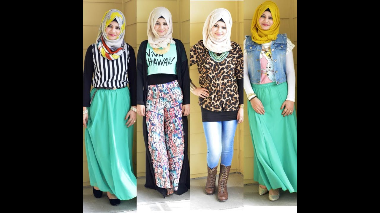HIJABI OUTFITS (SPRING/SUMMER) - YouTube