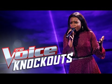 Michelle Mutyora performs Halo | The Voice Australia 2017