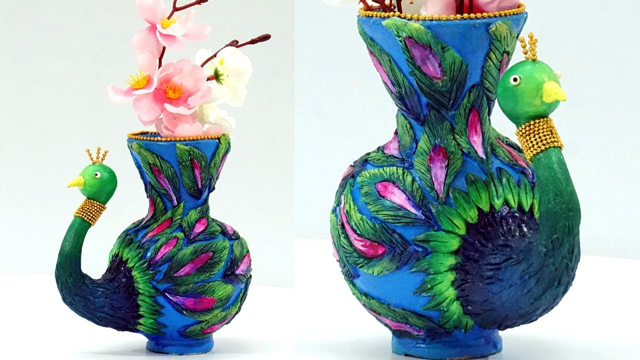 DIY Clay Pot Painting and Designs : How to Decorate Flower ... - photo#1