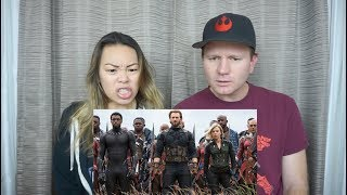 Avengers: Infinity War Official Trailer // Reaction and Review