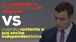 Sánchez quiere cambiar el Código Penal para sacar de la cárcel a sus socios condenados por sedición.