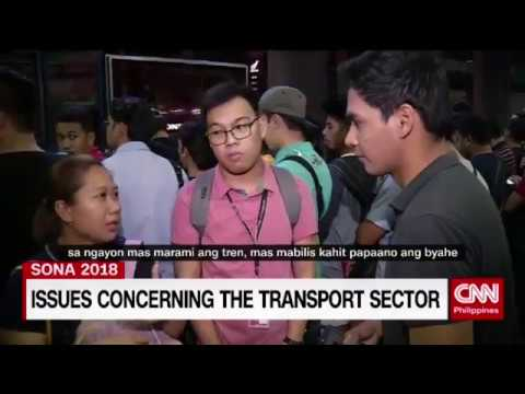 Issues concerning the transport sector