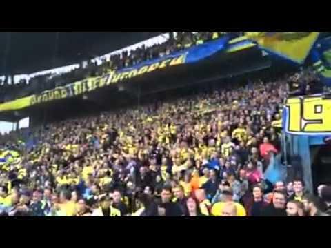 Brøndby IF Fans feiern die Rückkehr von Daniel Agger !!! HD (Daniel Agger Chant)