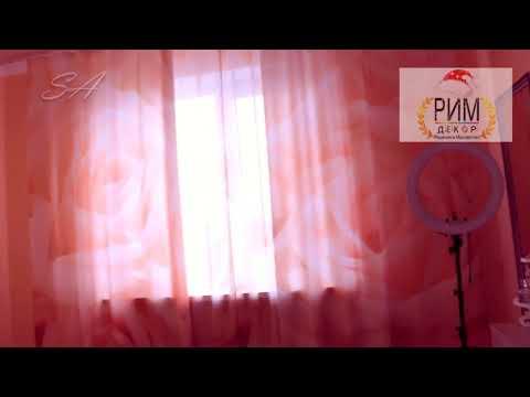 """Модульная картина, тюль и шторы """"Бежевые розы"""" от Рим-Декор обзор"""