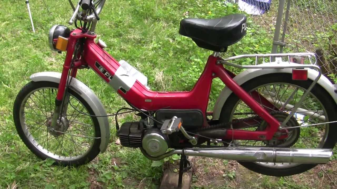 1977 Puch Maxi N First Start in Years - Plus Updates