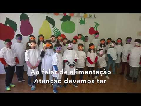 Hino Heróis da Fruta 2017/2018 - Escola Básica de Veiros