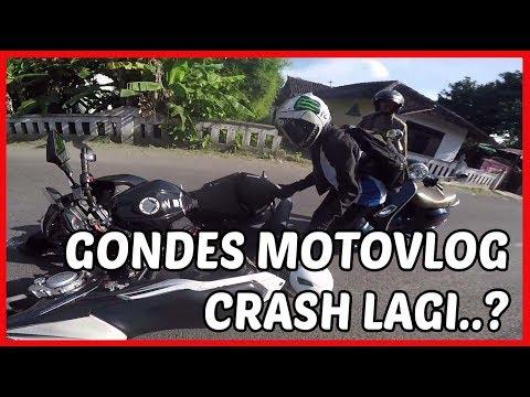 Gondes Motovlog Kecelakaan Lagi..?