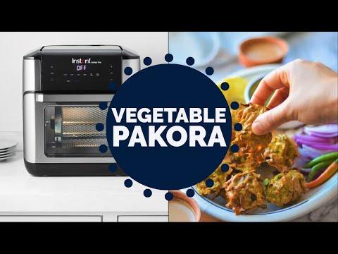 Vegetable Pakora | Air Fryer Recipe | Virtual Dinner Party | EP 28