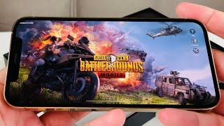 iPhone 12 Pro PUBG Mobile Game Test