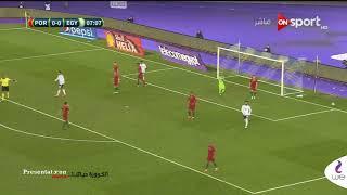 بالفيديدو – الخطر الأول.. عبد الله السعيد كاد يهز شباك البرتغال
