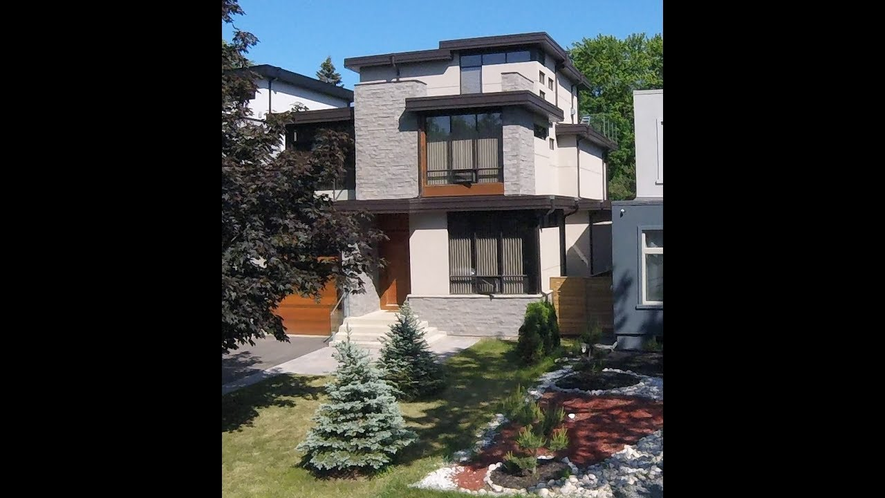 Modern house for sale in toronto mississauga 658 byngmount ave w4y video productions