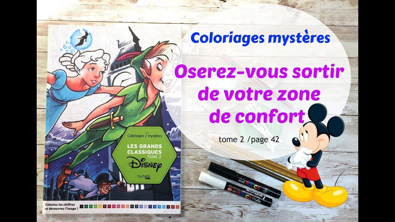 Coloriages mystères Disney , une autre façon de colorier ;-) by
