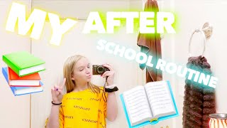 MY AFTER SCHOOL NIGHT TIME ROUTINE   Bryleigh Anne