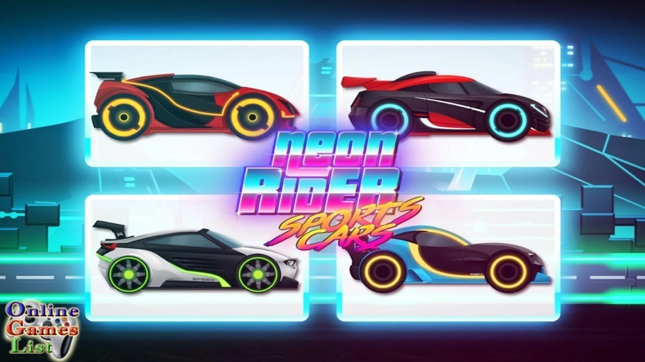 Car Games: Neon Rider Drives Sport Cars ANDROID Gameplay