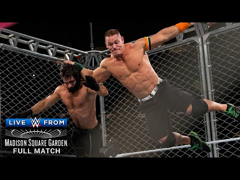 FULL MATCH - John Cena Vs. Seth Rollins – U.S. Title Steel Cage Match: WWE Live From MSG