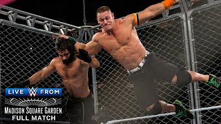 FULL MATCH - John Cena vs. Seth Rollins - U.S. Title Steel Cage Match: WWE Live from MSG
