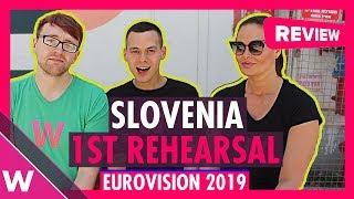 Slovenia First Rehearsal: Zala Kralj & Gasper Santl