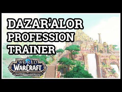 Dazar'alor Fishing Trainer WoW