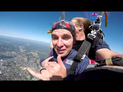 Shawn Peterson's Tandem skydive!