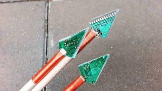 Cyber Punk Arrow - DIY PCB Arrowheads