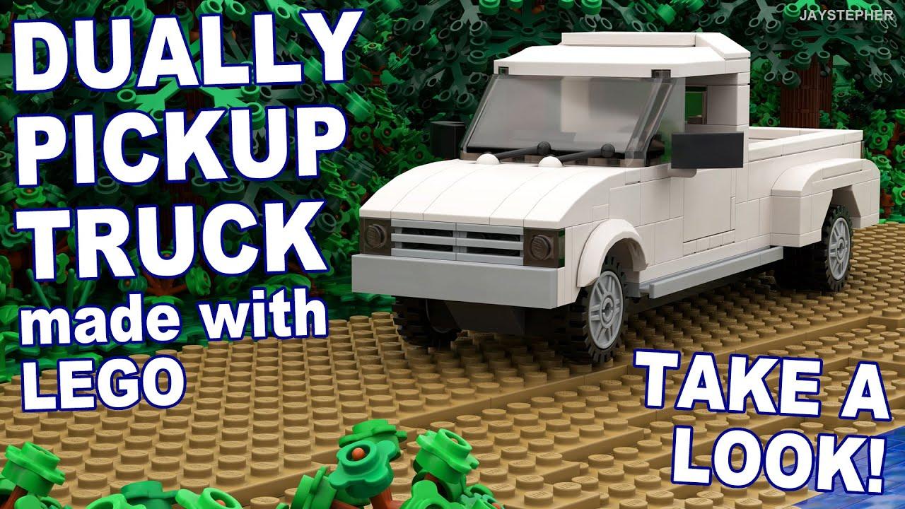 LEGO Dually Pickup Truck Custom Build MOC Tour - YouTube